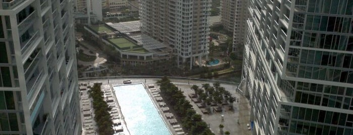 W Miami is one of Incredible Pools.