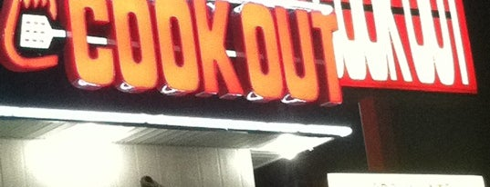 Cook Out is one of Places to Eat.