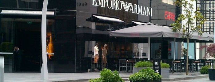 Emporio Armani Ristorante is one of Istanbul - Europe.