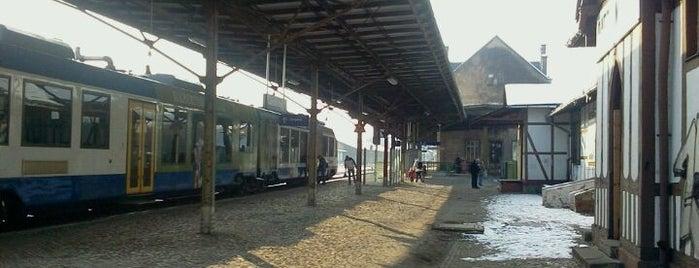 Bahnhof Quedlinburg is one of Bahnhöfe DB.