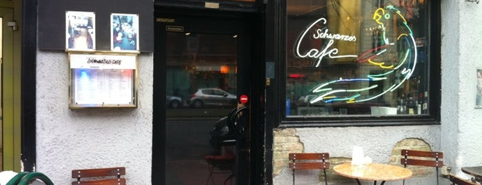 Schwarzes Café is one of 100 great bars - Lonely Planet 2011.