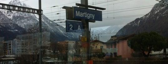 Gare de Martigny is one of Bahnhöfe.