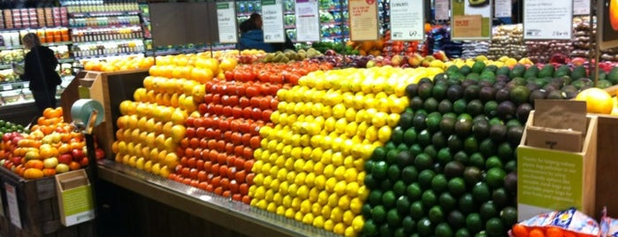 Whole Foods Market is one of Frequent places.