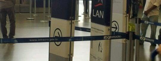 Check-in LAN is one of Aeroporto de Guarulhos (GRU Airport).
