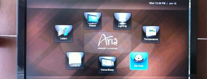 ARIA Resort & Casino is one of Las Vegas.