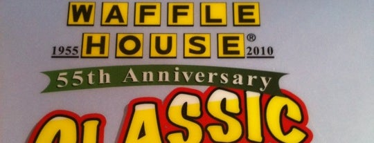 Waffle House is one of Faves.