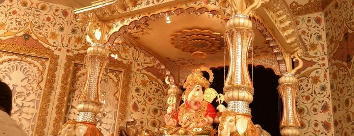 Dagdusheth Halwai Ganpati Mandir is one of Visiting Pune?.