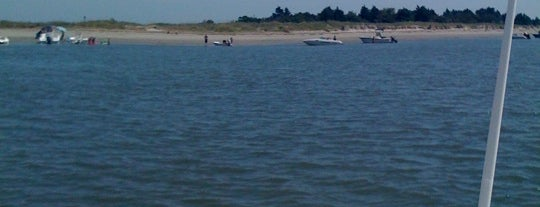 Morris Island is one of Charleston, SC.