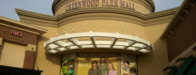 Greenwood Park Mall is one of Top Notch.