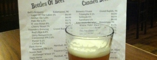 The Mitten Bar is one of Draft Mag's Top 100 Beer Bars (2012).
