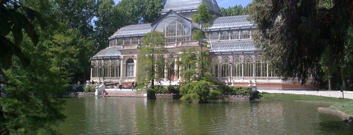Parque del Retiro is one of Dieter's favourite spots in Madrid.