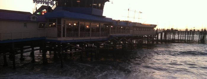 Tony's On The Pier is one of south bay beach cities.