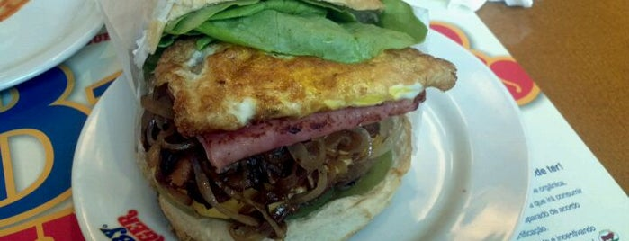 Baby Burger is one of Hamburguerias.