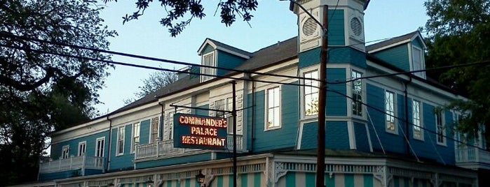 Commander's Palace is one of Dan's Places.