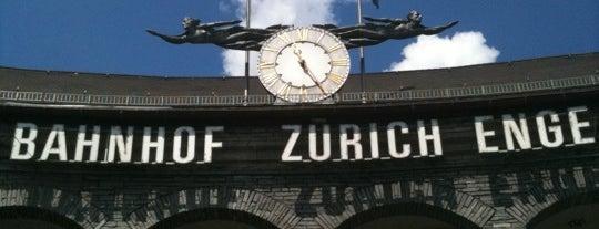 Bahnhof Zürich Enge is one of Bahnhöfe.
