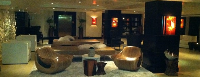 The Huntley Hotel is one of LOVING LA!!.