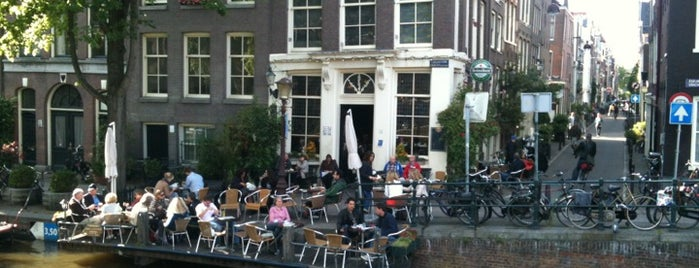Café 't Smalle is one of The 15 Best Cozy Places in Amsterdam.