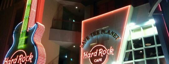 Hard Rock Cafe is one of Kansai.