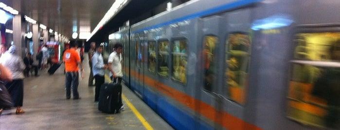 M1A / M1B - Metro İstasyonları