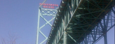 Ambassador Bridge is one of Detroit List #VisitUS.