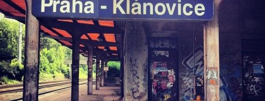 Železniční zastávka Praha-Klánovice is one of Železniční stanice ČR: P (9/14).