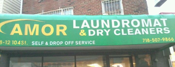 Amor Laundromat & Dry Cleaners is one of My NY experience.