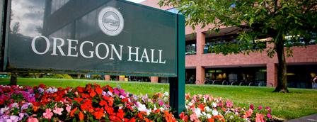 Oregon Hall is one of University of Oregon Buildings.