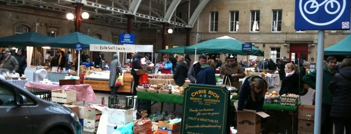 Green Park Station Market is one of Bath.