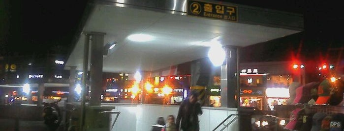 Sangwangsimni Stn. is one of Subway Stations in Seoul(line1~4 & DX).