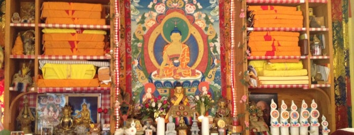 Namgyal Monastery is one of Sacred Sites in Upstate NY.