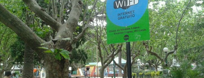 Plaza Vicente López y Planes is one of Mi barrio.