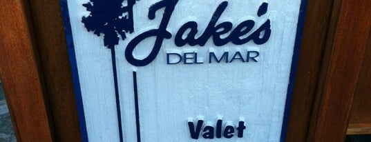 Jake's Del Mar is one of Establishments to Frequent.