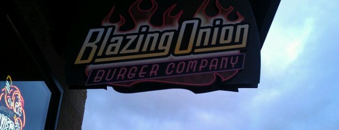 Blazing Onion Burger Company is one of Top 10 dinner spots in Snohomish, WA.