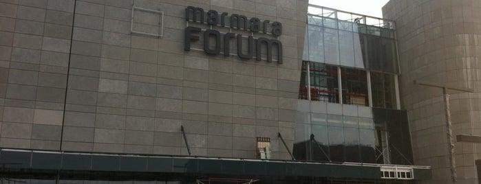 Marmara Forum is one of shopping.