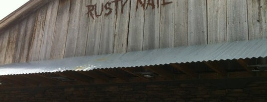 The Rusty Nail is one of Twunking Places.