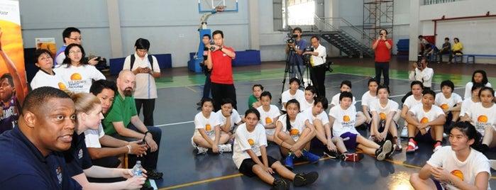 Universitas Tarumanagara is one of Duta Olahraga AS berkunjung ke Indonesia.