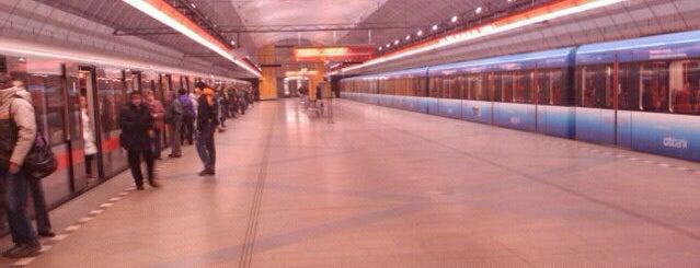 Metro =C= Kobylisy is one of Metro C.