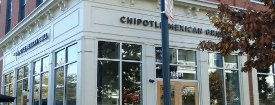 Chipotle Mexican Grill is one of Favorite places to get food!.