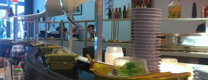 Ozzi Sushi Bar is one of Miami City Guide.