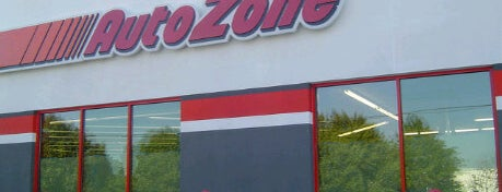 AutoZone is one of My Places.