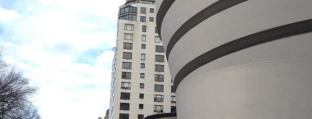 Solomon R Guggenheim Museum is one of New York ToDo.