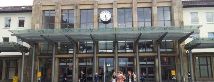 Kaiserslautern Hauptbahnhof is one of DB ICE-Bahnhöfe.