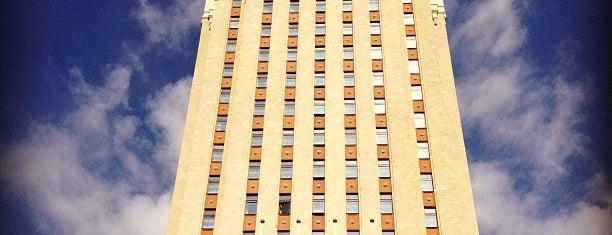 Hilton Moscow Leningradskaya is one of 100 примечательных зданий Москвы.