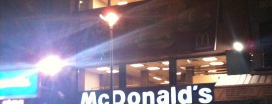 McDonald's is one of 'Daha ne kadar buraya geleceğim' mekanları.