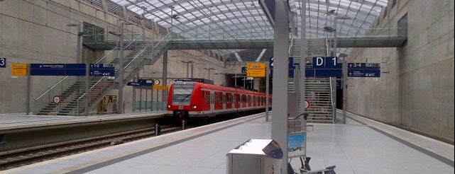 Cologne/Bonn Airport Railway Station is one of DB ICE-Bahnhöfe.