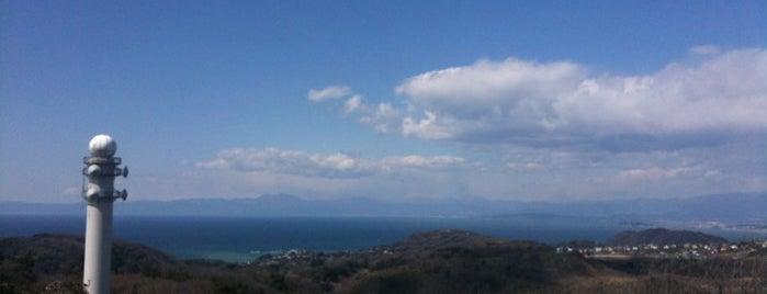 三浦半島の山々