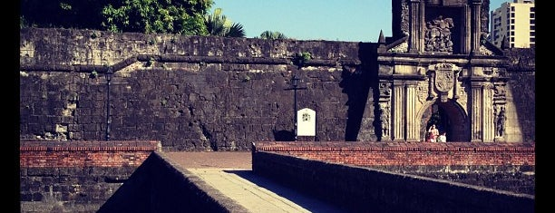 Fort Santiago is one of Manila.