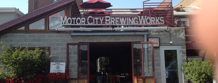 Motor City Brewing Works Inc is one of Detroit Monday.