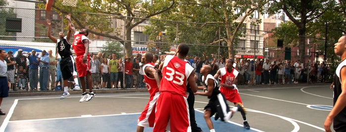 West 4th Street Courts (The Cage) is one of Popular Basketball Courts in NYC Parks.