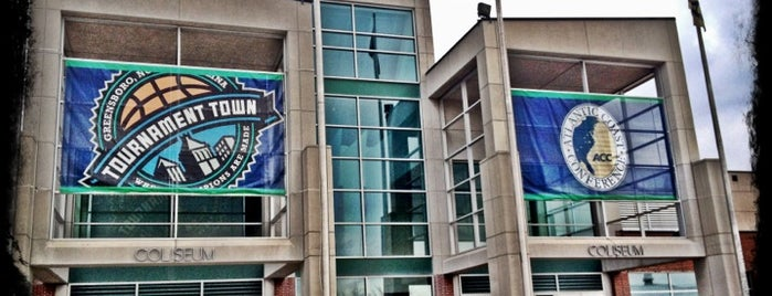 Greensboro Coliseum Complex is one of Sports Venues I've Worked At.